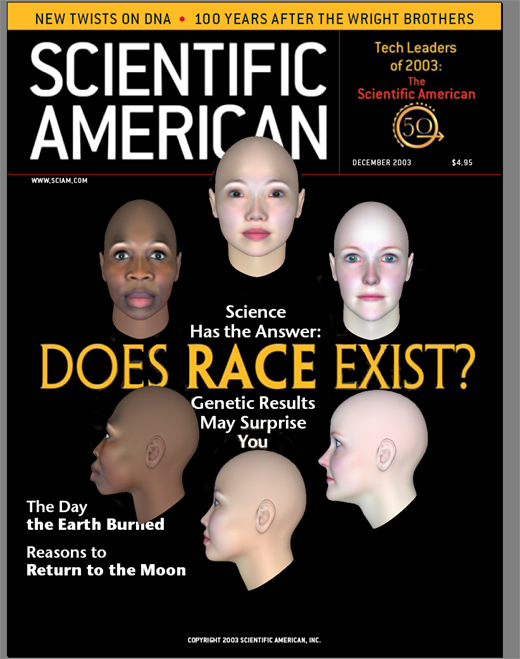 if 'races' don't exist why and He challenged our collective societal construction of race, specifically our acceptance and use of white to identify a culturally diverse group of people.